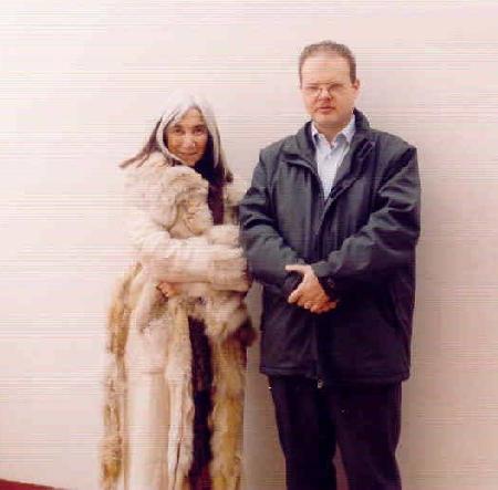 María Kodama e Luis Dapelo