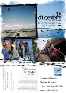 18 dicembre Giornata Internazionale del Migrante