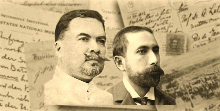 Rubén Darío y Amado Nervo