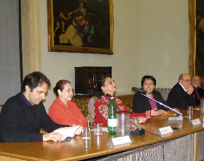 da sinistra a destra: Neri, Dolores Repetto, Ofelia Medina, Sonia, Stefano Tedeschi