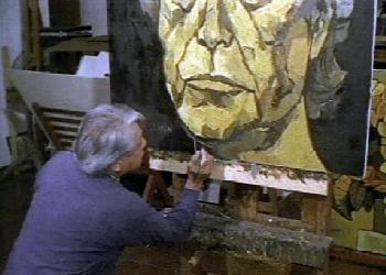 Autroretrato del maestro Guayasamín